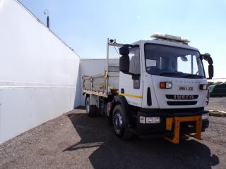 2013 IVECO - EUROCARGO TIPPER Vehicle Display Image