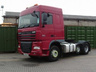 2008 DAF - XF105.460 Vehicle Display Image