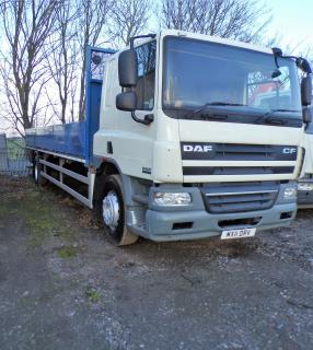 2011 DAF - CF65 Vehicle Display Image