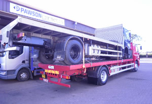 Export And Shipping Pawson Commercials